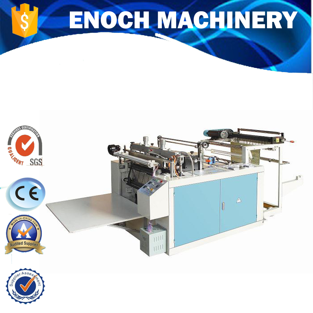 Heat-sealing & Heat-cutting T-shirt Bag Making Machine(DFR-500)