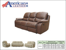 DELUXE Recliner sofa living room sofa sets High quality for CN1011 3+2+1
