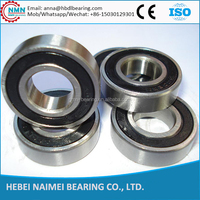motorcycle used 6201 deep groove ball bearings