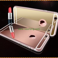 Luxury Plating Mirror TPU Silicon Frame