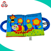 2016 learning & educational toys plush customized soft baby fabric cloth book,