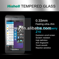 For blackberry z10 clear screen protector oem/odm