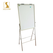 Height Adjustable Whiteboard Stand Movable Flip chart whiteboard with clip Made In Factory