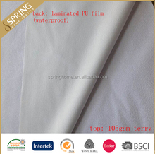 TPU/PU/PVC/PE laminated fabric