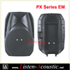 PX-EM High Quality Plastic Cabinet Empty Speaker Box
