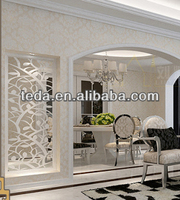 2014Teda Home&Garden Decorations antique leather room divider and screen