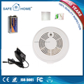 Wholesale CE approved photoelectric digital GSM Smoke detector with rechargable battery.