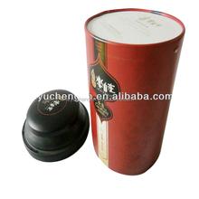 food packaging tin can/paper canister for food packaging