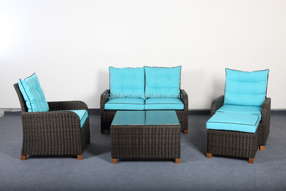 New style manufacturer directly supply rattan high quality luxury outdoor furniture