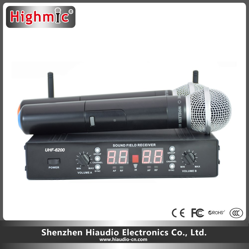 Nice Looking Mini Wireless Microphone For Teacher and karaoke