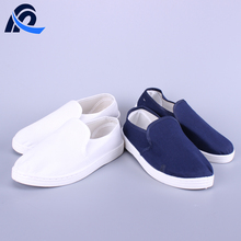 Different Colors Canvas Cleanroom PVC Anti-Static Shoe For Factory & Lab