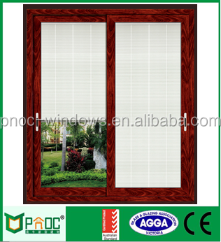 Golden Supplier Aluminum 4 panels aluminum sliding window with rubber strip