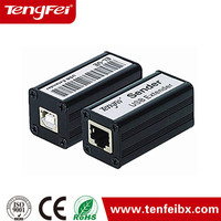 New product usb 2.0 rj45 lan extender support CAT5E ,CAT.5 and CAT6 made in China
