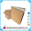 Kraft Paper Cover Notebook Blank Sheet Promotional Design Diary Printing
