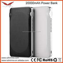 18650 battery portable power bank 19v Factory Price OEM portable charger,20000mAH with dual usb ports