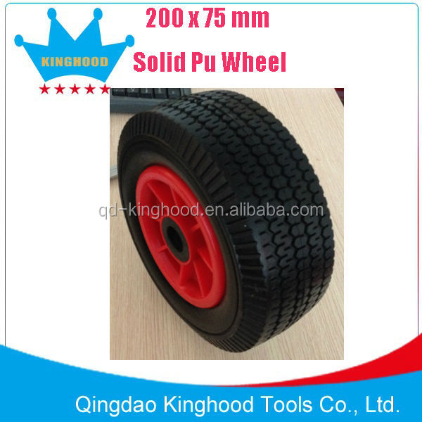 Solid PU Foam Wheel,Wheelbarrow tire 3.00-8 13x3
