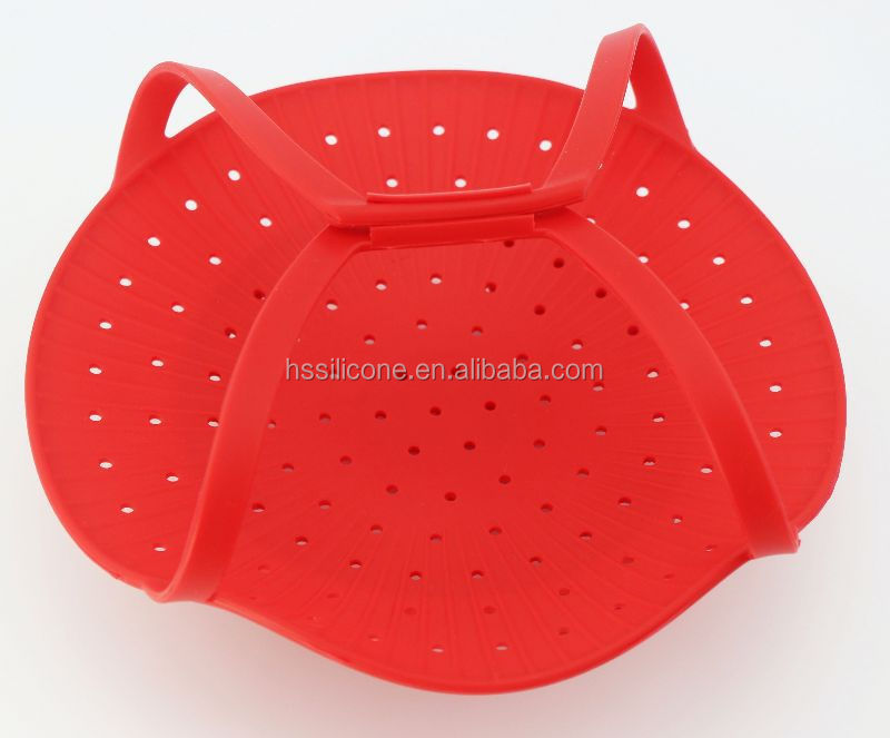 Silicone rice cooker and steamer