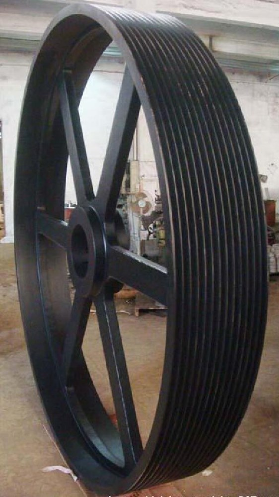 Cast Iron V Grooved Belt Pulley,Casted high quality V belt pulley,Cast Iron V Belt Pulley wheel