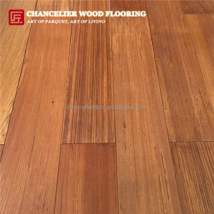 Guangzhou Oiled Real Burmese Teak hardwood Timber Flooring