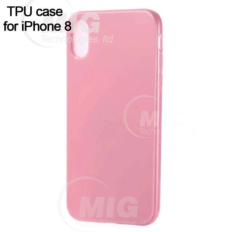 New Soft TPU phone case for iPhone 8 colorful candy mobile back cover for iphone 7 case tpu 6 plus 6s phone accessories