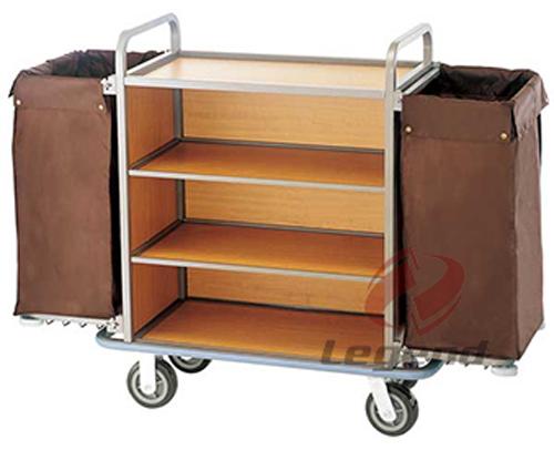 Housekeeping equipment hotel trolley room service cart for Hotel room service cart