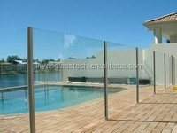 Jinyao Clear tempered glass fence panel