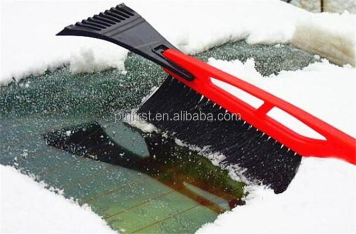 Removal Brush Red for Winter Car Snow brush Shovel Snow Ice Scraper