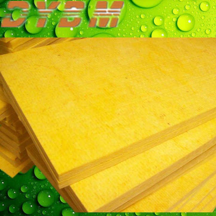 acoustic aluminum foil faced glass wool for building Insulation Materials