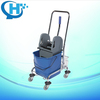 hot selling mini small plastic microfiber double mop wringer trolley