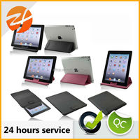 Fashion stylish Pouch stand cover case for ipad 2 3 4 case,for ipad 2 smart cover PU leather case