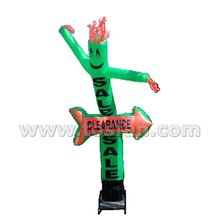 Advertising equipment inflatable air tube man dancer F3045