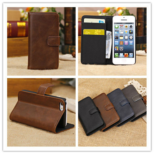 for iphone5c case/for iphone5c case wallet leather cover Retro style