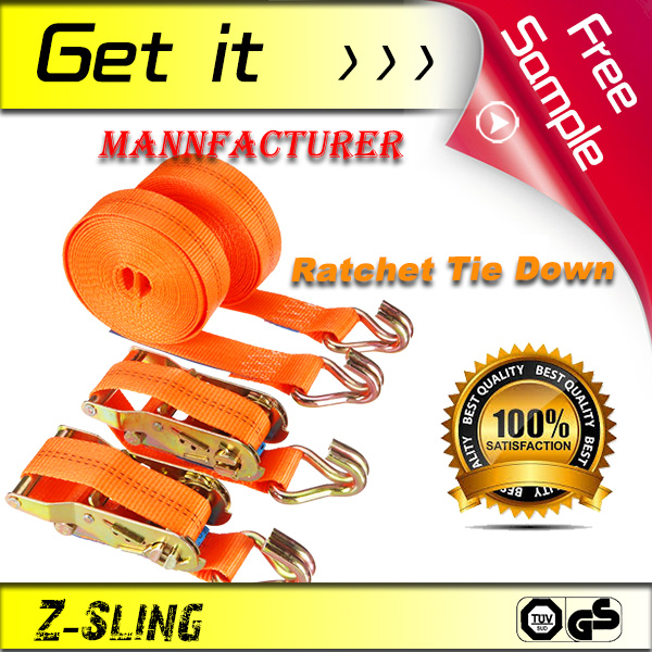 FREE SAMPLE!!! Z-Sling heavy duty Ratchet Tie Down Strap