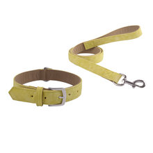 Unique Pet Products Wholesale PU Leather Dog Collar and Leash