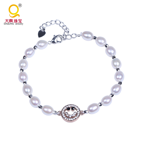 Latest pearl bracelet design Korea style bracelet jewelry friendship bracelets