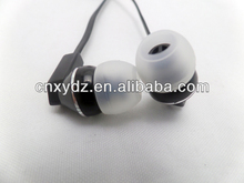 Black Headphone Aviation Headset with Alternative Connector for Radio communication