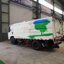 Direct Factory for Drought Area 2018 New Four Brooms Clean Road Vacuum Street Sweeper Truck