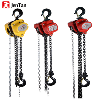 JenTan Construction Chain Block Light Crane Hoist Load Limiter