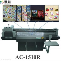 Guangzhou A1 Format Digital Small Flatbed Garment Inkjet 3D Printer China