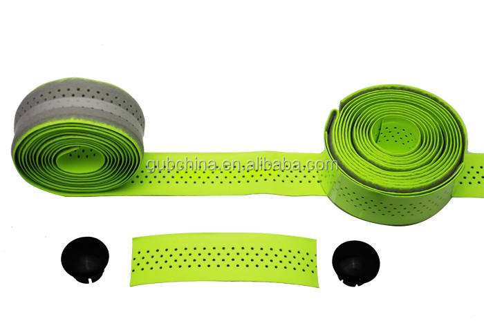 GUB 1620 2pcs high quality New Cycling Road Bike Sports Cork Handlebar Tape+ 2 Bar plug 1pair