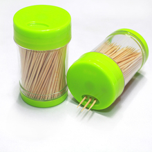 Anhui Huoshan Factory Manufactured Disposable Bamboo Toothpicks