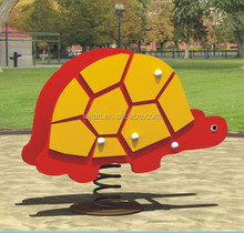 CE proved novelty two PE board tortoise toy park kiddies amusement rides