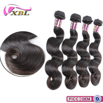 Full Ends XBL 10A Human Hair Cheap Virgin Brazilian Body Wave Hair