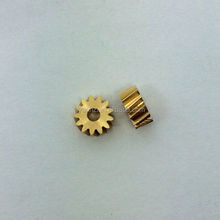 High quality factory customized brass pinion small gears cnc machining parts nonstandard gears