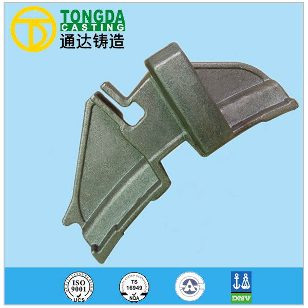 ISO9001 TS16949 OEM Casting Parts High Quality Spheroidal Graphite Iron Casting