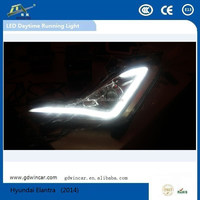 Hottest Sale LED Lamp led Source lighting/DRL with Fog lamp for Hyundai Elantra Auto LED Daytime Running Light Fog lamp(2014)