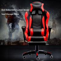 Gaming Racing Custom Seat Game Computer Wheel Swivel Executive Leather Office Chair