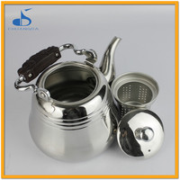 Electricity With Wooden Handle Stainless Steel Water Kettle For Family