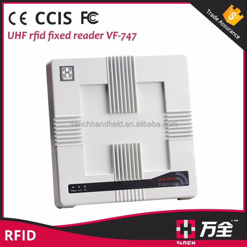 UHF Reader Fixed RFID Plastic Card Reader Access Control System