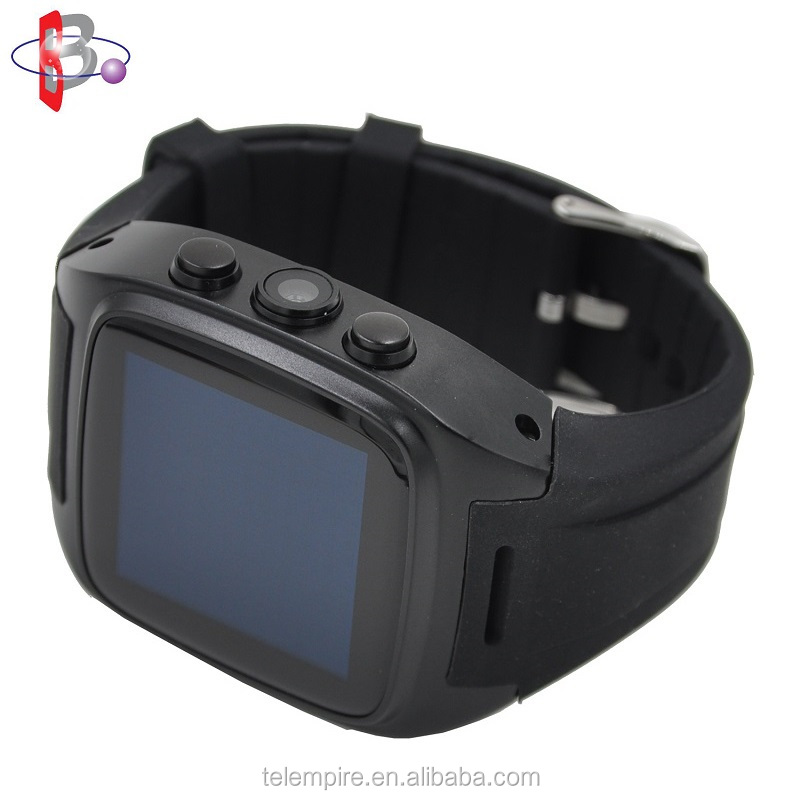 Bluetooth GPS Navigation WiFi SNS Camera Android 4.4 Smart Wrist Watch Mobile Phone